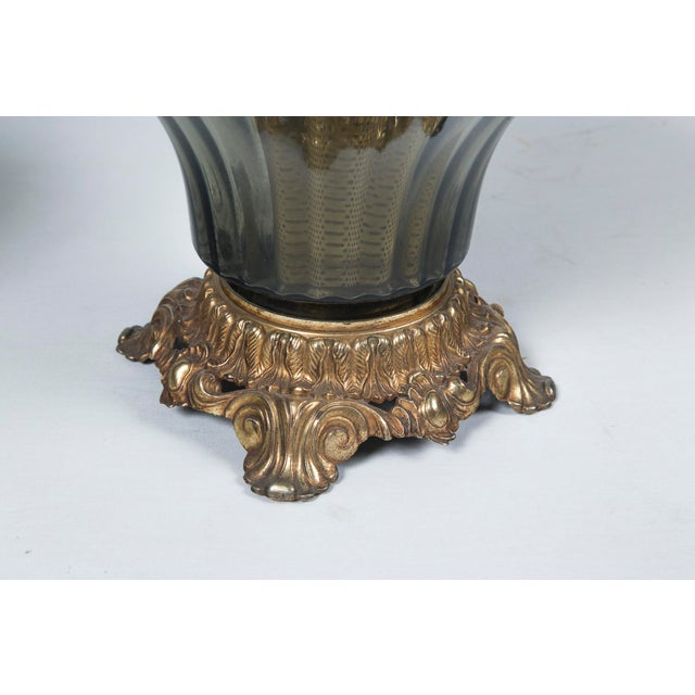 1940's Italian Venetian Lamps - a Pair For Sale - Image 4 of 7