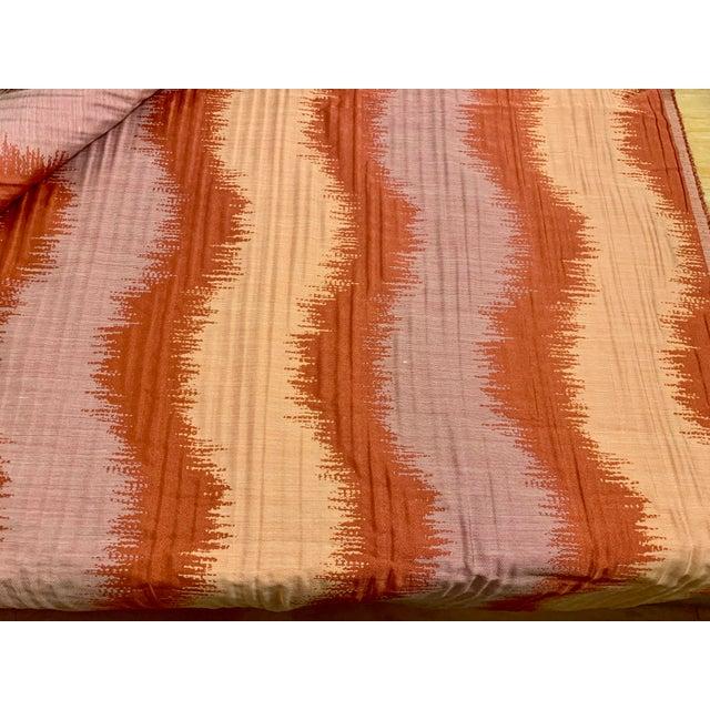 Boho Chic Vintage John Robshaw's Sabai Fabric- 4 Yards For Sale - Image 3 of 4
