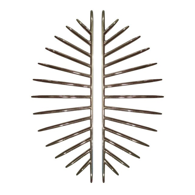 Contemporary Burst Long (Polished Nickel) For Sale - Image 3 of 3