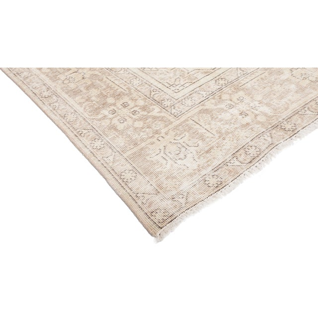"""Vintage Hand Knotted Area Rug - 7' 10"""" X 11' 1"""" - Image 2 of 4"""
