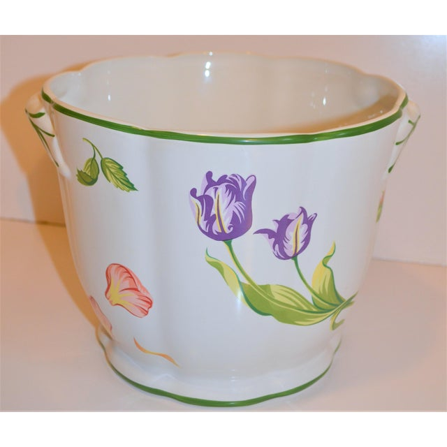 "1990s Vintage Tiffany & Company ""Petals"" Cachepot For Sale - Image 5 of 13"