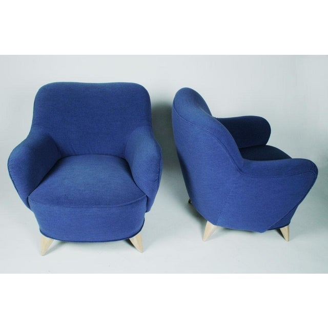 Wood Vladimir Kagan Barrel Lounge Chairs - a Pair For Sale - Image 7 of 7
