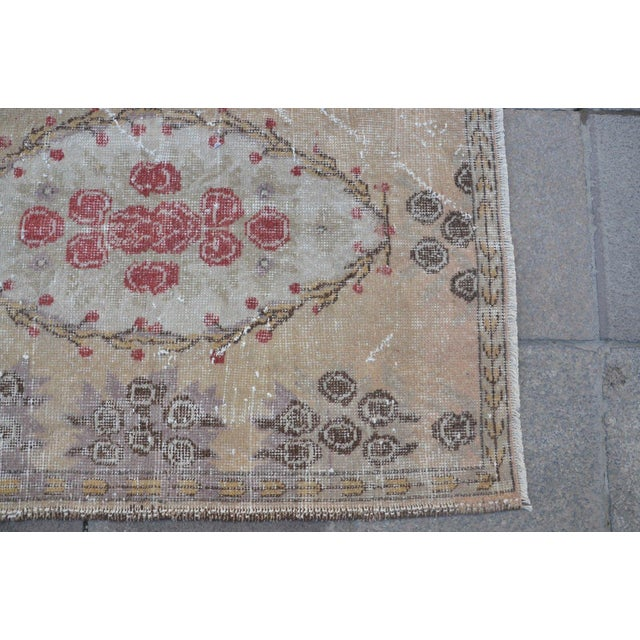 Turkish Overdyed Floor Rug- 2′11″ × 5′9″ For Sale - Image 5 of 6