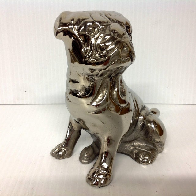 1930s Chromed English Bulldog - Image 4 of 6