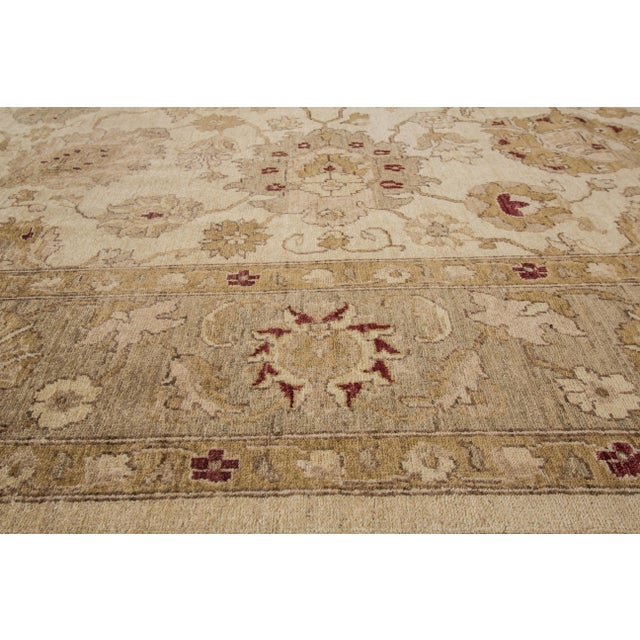 "Apadana Peshawar Rug - 7'11"" x 10' For Sale - Image 4 of 7"