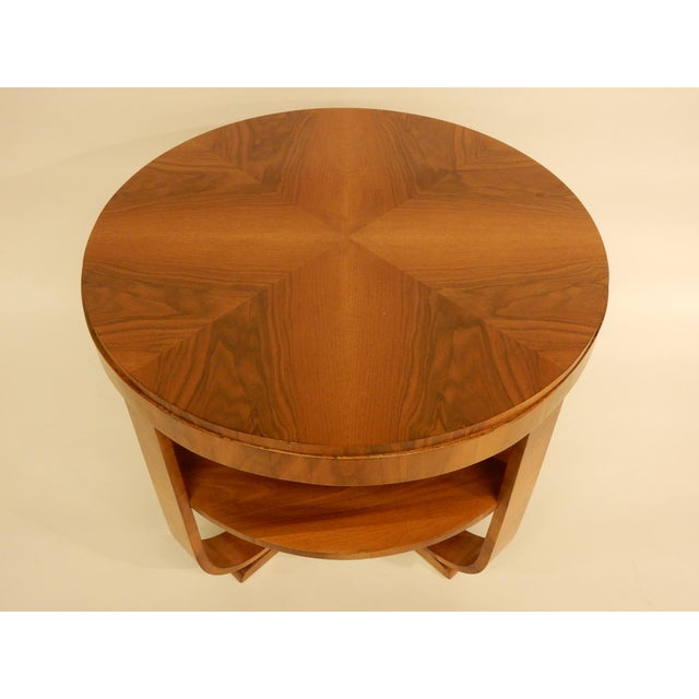 1930's Round Art Deco Table For Sale In New Orleans - Image 6 of 7