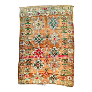 Moroccan Azilal Rug - 6′8″ × 9′7″ For Sale