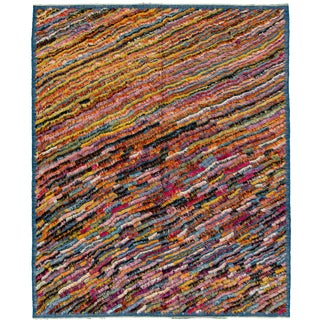 "21st Century Modern Moroccan Style Rug, 8'2"" X 9'11"" For Sale"