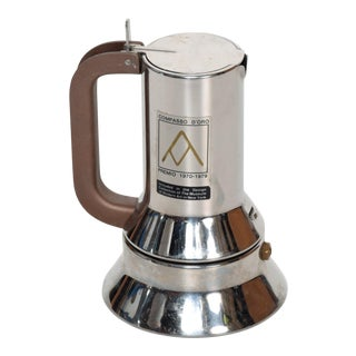 Richard Sapper for Alessi, Coffee Expresso Maker, Mid Century Italian Modern For Sale