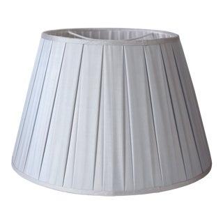 Custom Maison Maison Box Pleat Silk Lampshades For Sale