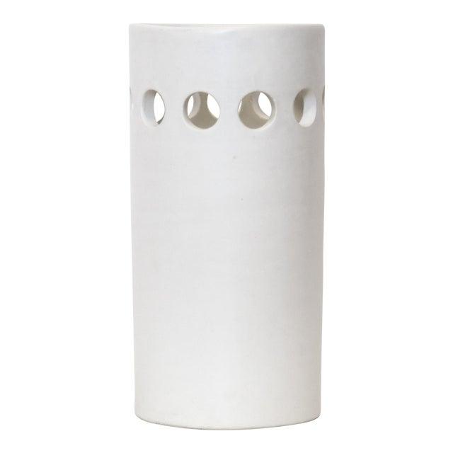 White Bitossi for Rosenthal Netter Vase For Sale