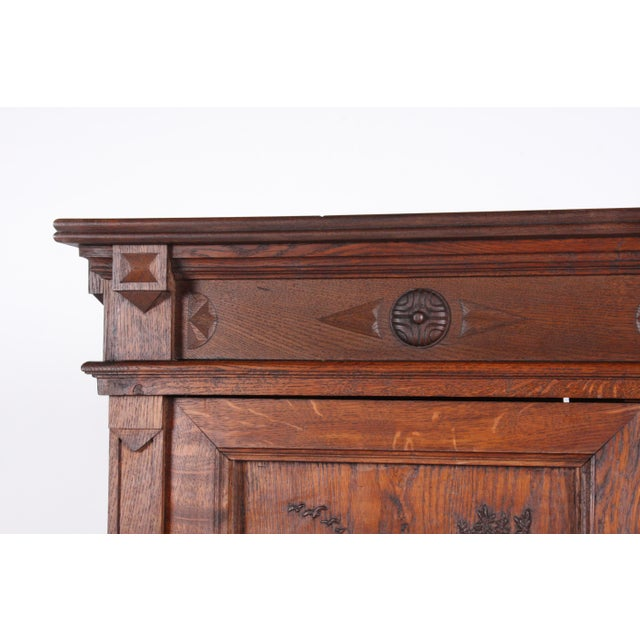 19th-Century Black Forest German Cabinet - Image 4 of 11