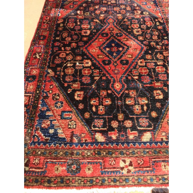 Islamic Small Turkish Hand-Knotted Rug For Sale - Image 3 of 8