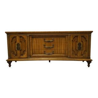 "Furniture Makers Italian Provincial 74"" Triple Door Dresser 1524 For Sale"