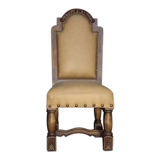 Spanish Colonial Chair For Sale