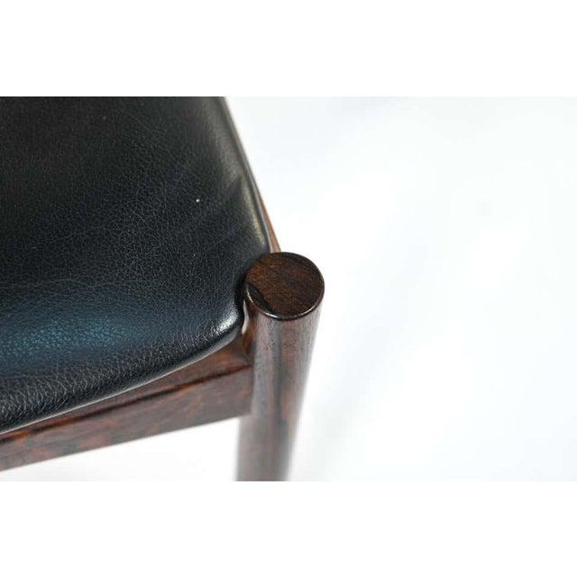 Six Mid-Century Modern Danish Dining Chairs, Soro Stolefabrik Denmark, Rosewood For Sale - Image 10 of 13