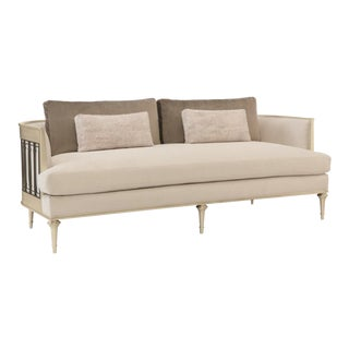 Caracole Modern Quit Your Metal-In Sofa For Sale