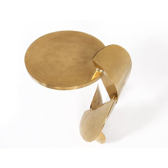 Yann Dessauvages The Dina Sculptural Side Table by Yann Dessauvages For Sale - Image 4 of 5