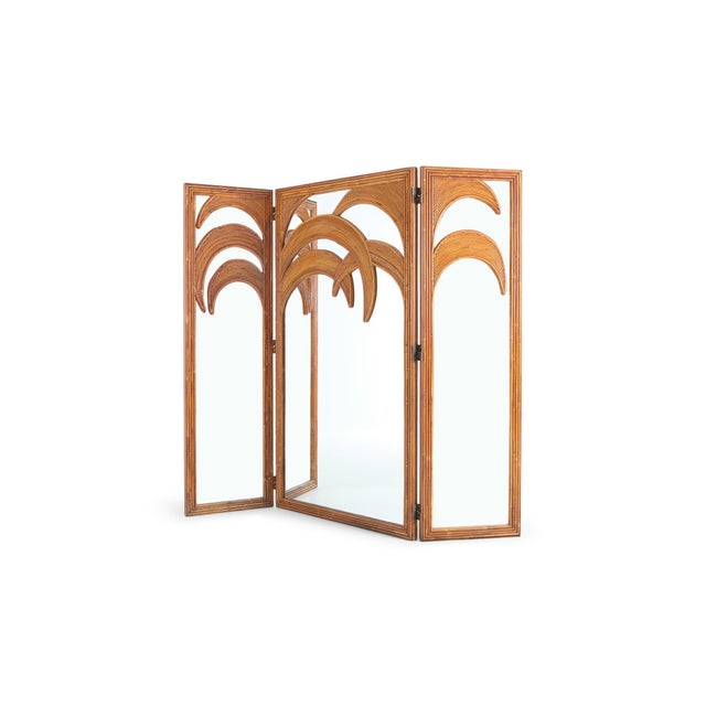 1970s Vivai Del Sud Tropicalist Screen & Room Divider For Sale - Image 5 of 9