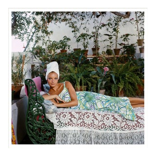 """Slim Aarons, """"Quiet Afternoon,"""" January 1, 1980 Getty Images Gallery Framed Art Print For Sale"""