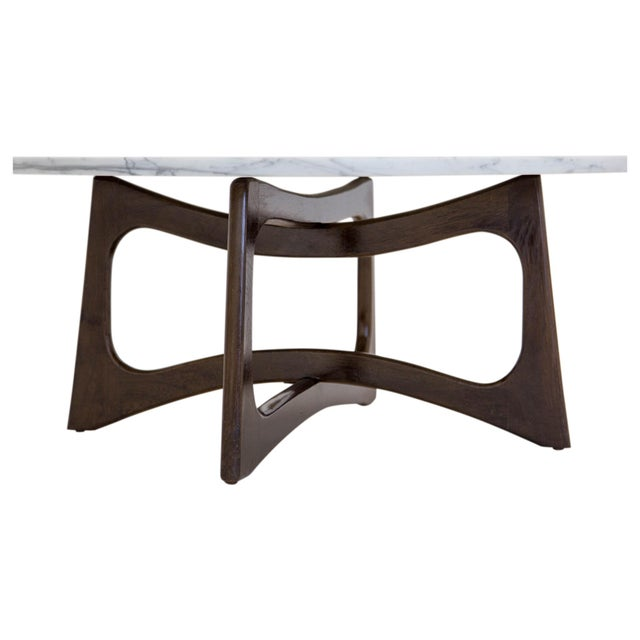 """Iconic mid-century modern sculptural """"dog bone"""" coffee table designed by Adrian Pearsall for Craft Associates. The 7/8""""..."""