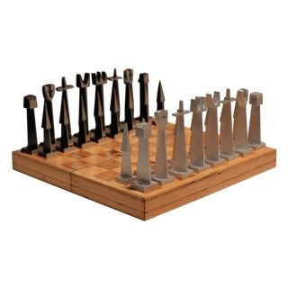 Austin Cox Modernist Chess Set for Alcoa