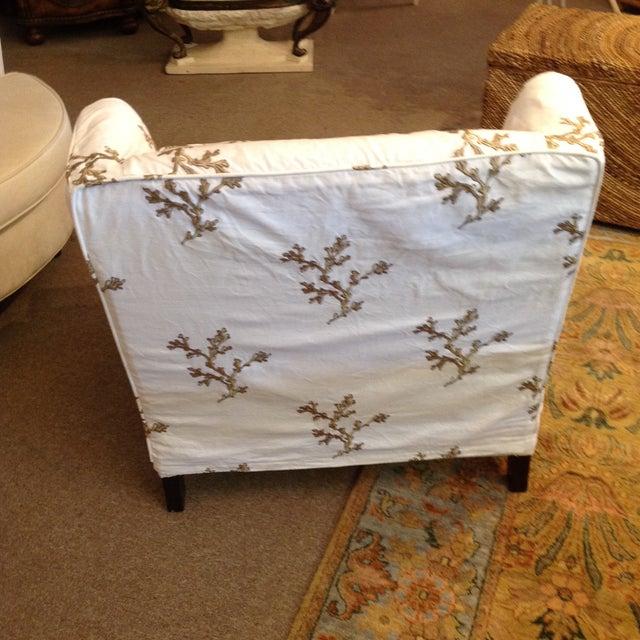 Barclay Butera Taylor Wing Chair - Image 6 of 11