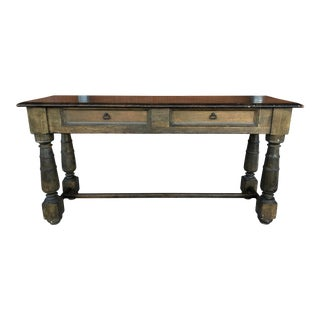 French Country Console Table For Sale