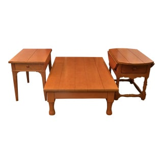 Drexel Family Room Tables - Set of 3 For Sale