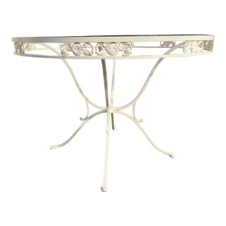 Wrought Iron Patio Table For Sale