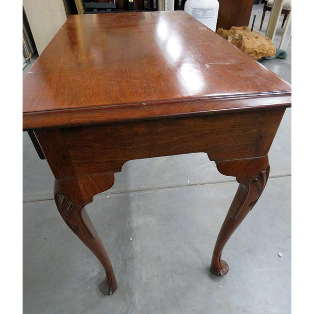Late 20th Century Kittinger Queen Anne Style Writing Desk For Sale - Image 5 of 8