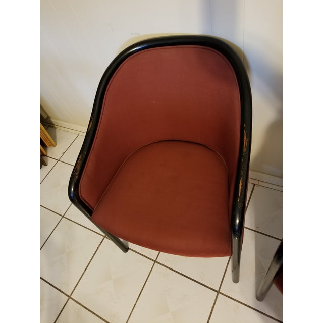 Vintage Mid Century Modern Ward Bennett Chairs- A Pair For Sale In Houston - Image 6 of 12