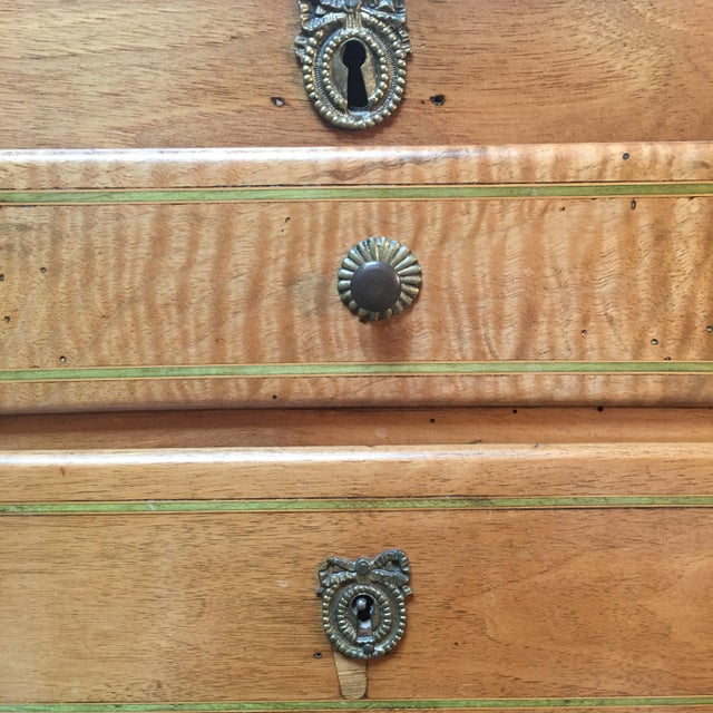 18th Century Louis XVI Dressing Table, Coiffeuse For Sale - Image 9 of 13