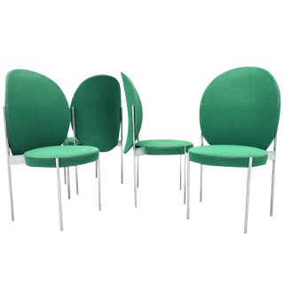 Mid-Century Chairs by Verner Panton for Thonet For Sale