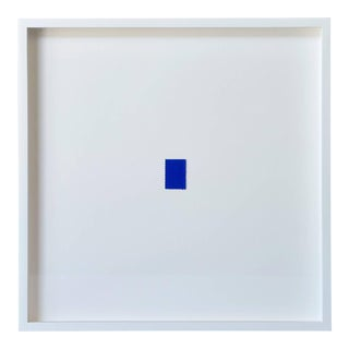 Blue Stamp by Yves Klein For Sale