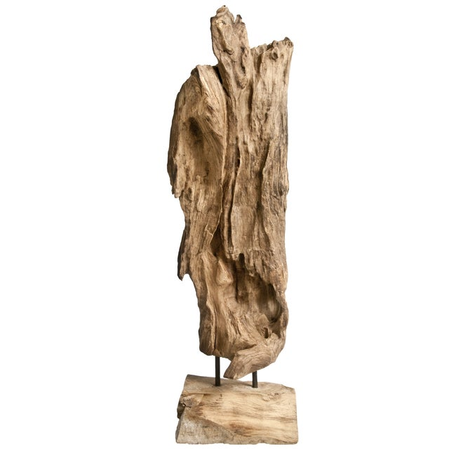 Recycled Driftwood on Stand - Image 1 of 3