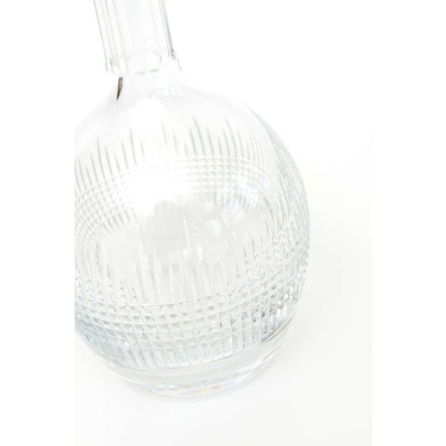 "Beautiful Baccarat ""Nancy"" Crystal Decanter/ SATURDAY SALE - Image 8 of 9"