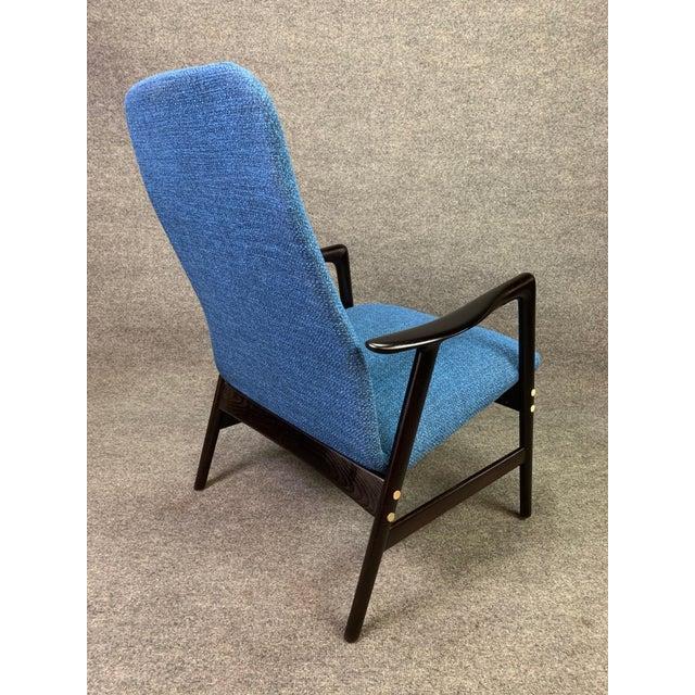 Mid Century Vintage Alf Svensson for Dux Scandinavian Lounge Chair For Sale - Image 9 of 11