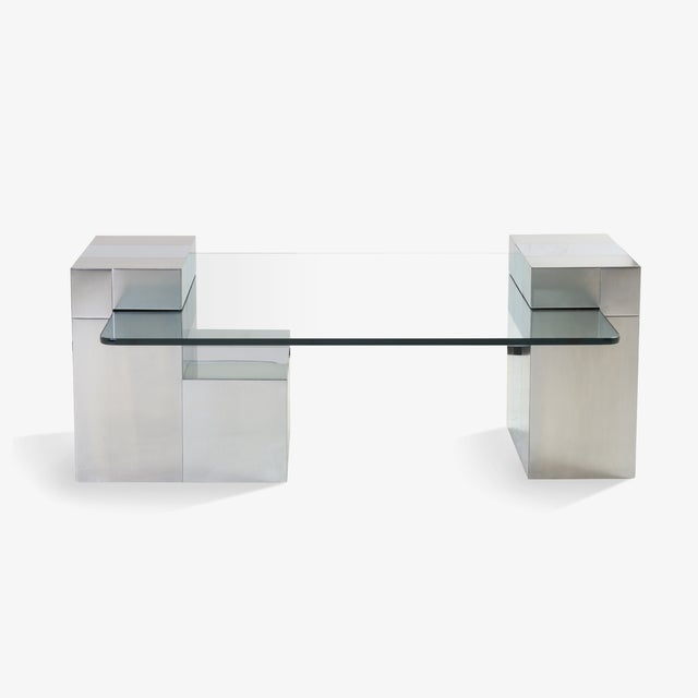 Cityscape Floating Cocktail Table by Paul Evans - Image 7 of 7