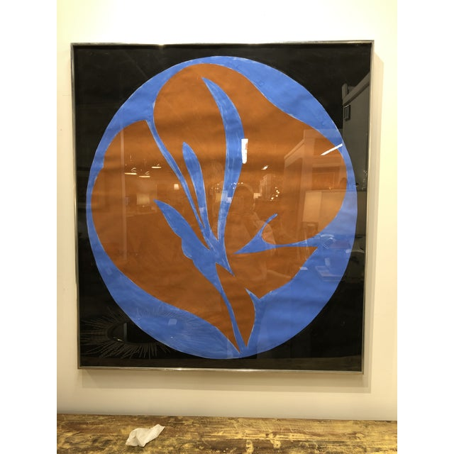 Abstract Pair Jack Youngerman Abstract Painting For Sale - Image 3 of 7