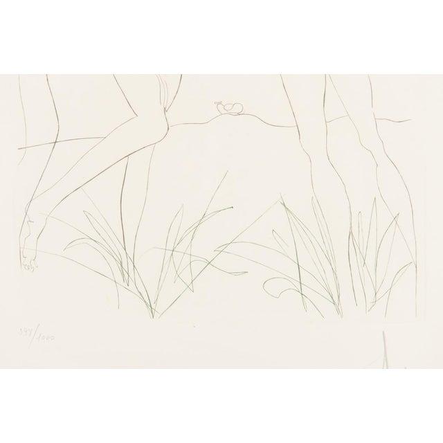 """Salvador Dali """"Adam & Eve"""" Signed Lithograph - Image 5 of 10"""