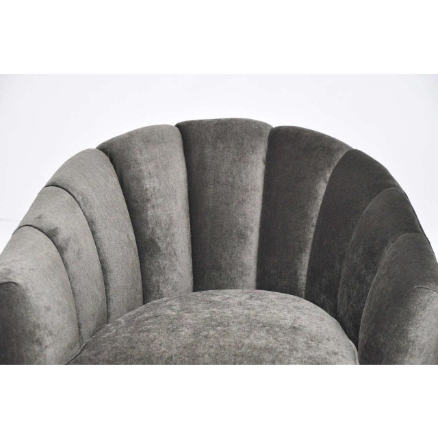 1960s Mid-Century Swivel Chairs For Sale - Image 5 of 8