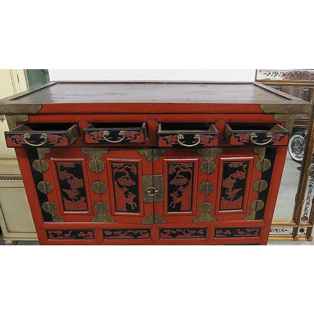 Antique Asian Cabinet For Sale In Philadelphia - Image 6 of 13 - Exquisite Antique Asian Cabinet DECASO