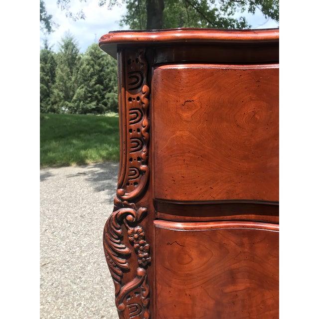 Wood Cherry Dresser by John Widdicomb For Sale - Image 7 of 11