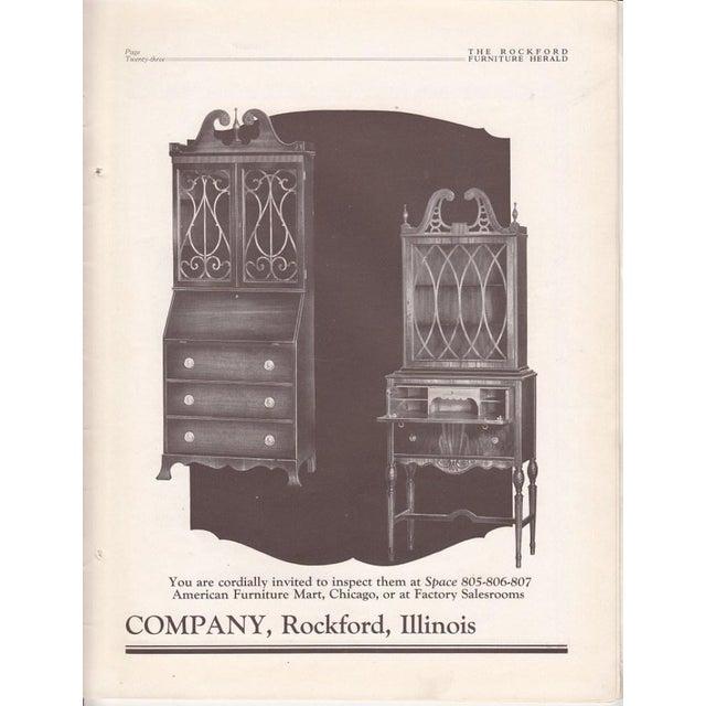 Illinois Rockford Cabinet Antique Secretary Desk For Sale - Image 11 of 13 - Illinois Rockford Cabinet Antique Secretary Desk Chairish