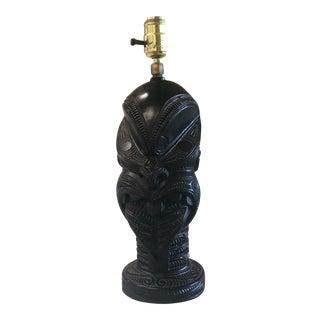 Vintage Plaster Paris Lamp For Sale