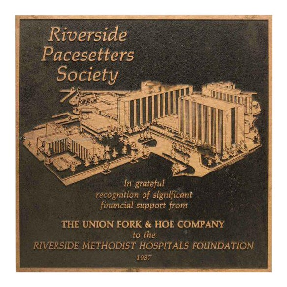 Vintage Riverside Pacesetters Society Plaque - Image 1 of 6