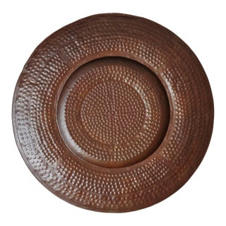 Iron Hammered Wall Plate For Sale