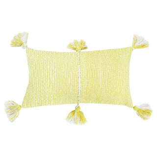 Faded Yellow Antigua Pillow