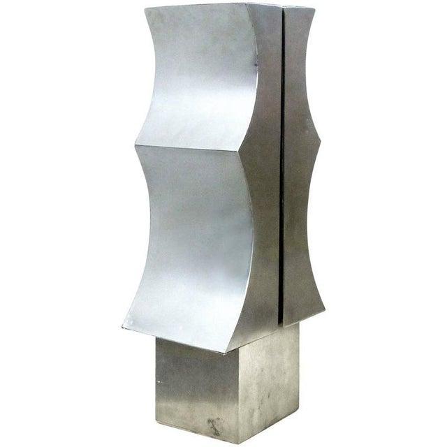 Modernist Aluminum Sculpture by Yutaka Toyota 'Japan/Brazil circa 1970' - Image 10 of 10